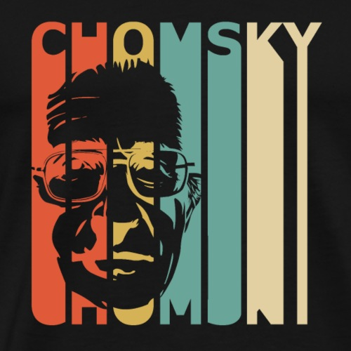 Retro Chomsky - Men's Premium T-Shirt