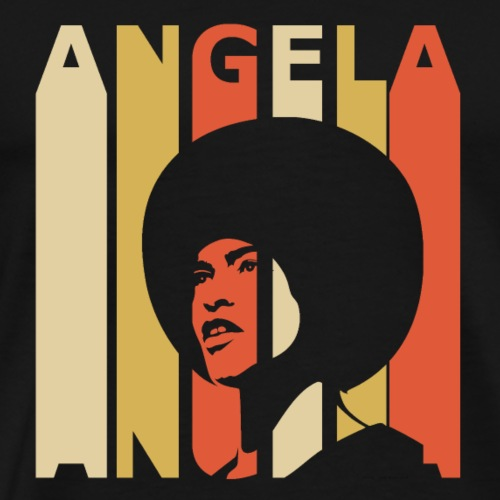 Retro Angela - Men's Premium T-Shirt