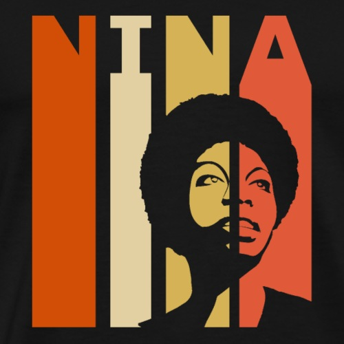 Retro Nina - Men's Premium T-Shirt