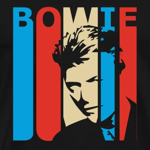Retro Bowie - Men's Premium T-Shirt