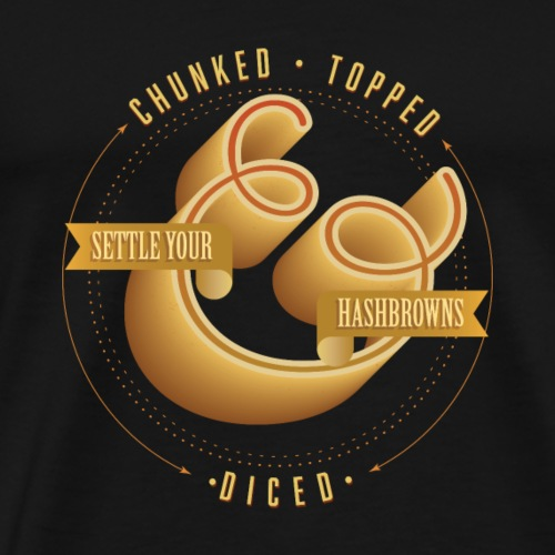 Chunked, topped & diced - Men's Premium T-Shirt