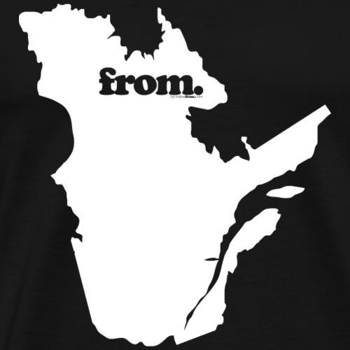 from quebec - Men's Premium T-Shirt