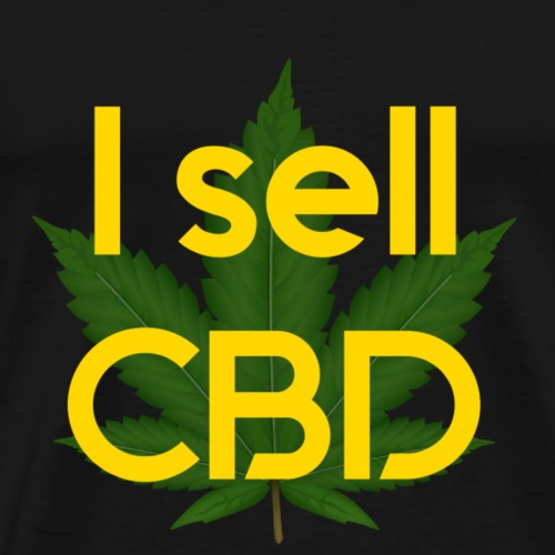 I sell CBD - Men's Premium T-Shirt