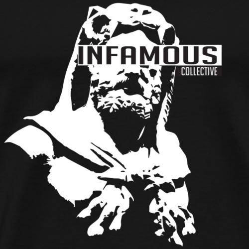 Infamous Collective - White - Men's Premium T-Shirt