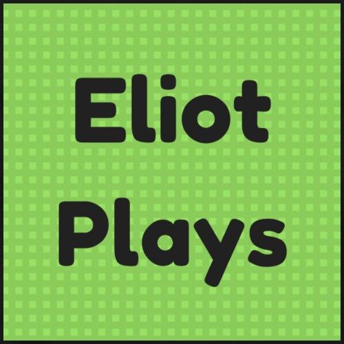 Eliot Plays Stiped Logo - Men's Premium T-Shirt