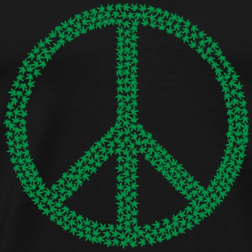 Marijuana Peace - Men's Premium T-Shirt