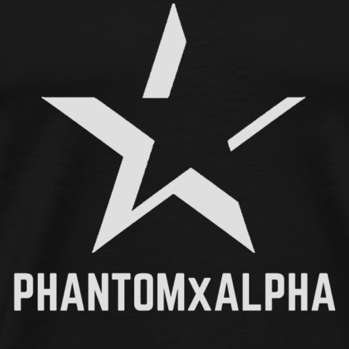 PHANTOMxALPHA (Grey Logo) - Men's Premium T-Shirt