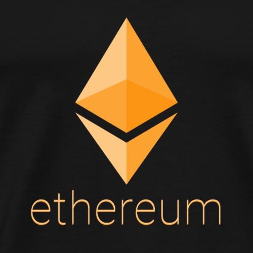 Ethereum Gold - Men's Premium T-Shirt