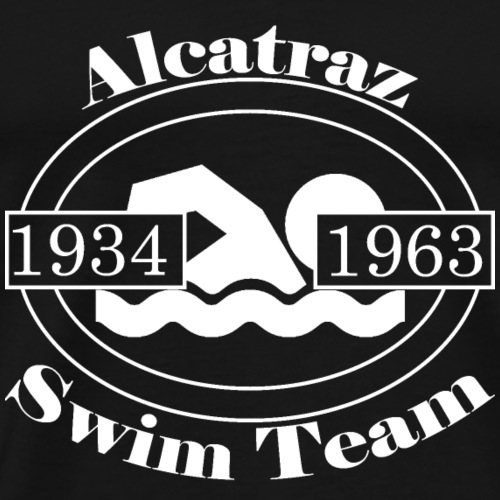 Alcatraz Swin Team - Men's Premium T-Shirt