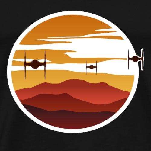 To the sunset - Men's Premium T-Shirt