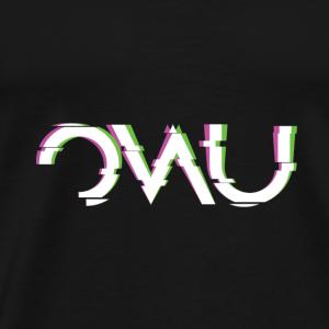 OWU Glitch - Men's Premium T-Shirt