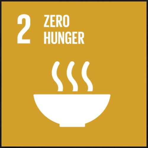 E SDG goals Goal 02 zero hunger - Men's Premium T-Shirt