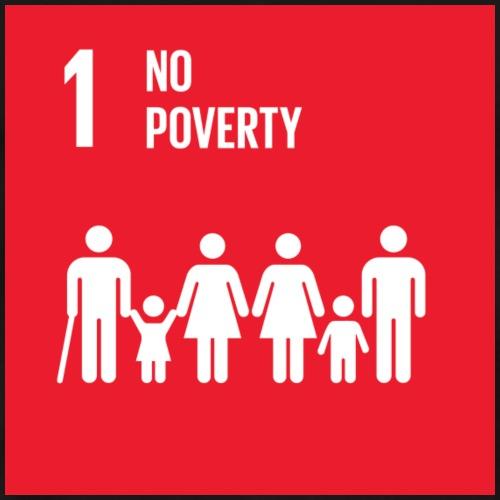 E SDG goals Goal 01 no poverty - Men's Premium T-Shirt