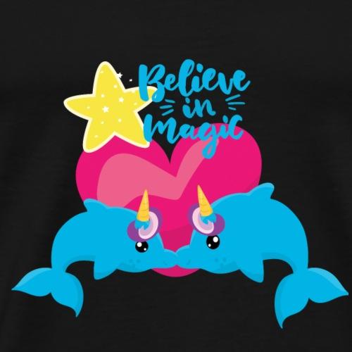 Is it a unicorn? Is it a dolphin? Is it love? - Men's Premium T-Shirt