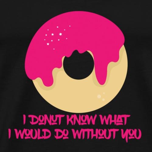 I Donut know - Men's Premium T-Shirt