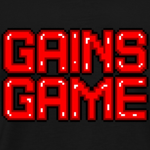just gains - Men's Premium T-Shirt