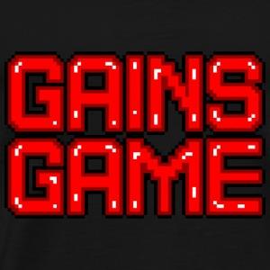 just gains - Men's Premium T-Shirt