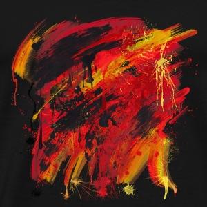 Paint Element 05 - Men's Premium T-Shirt