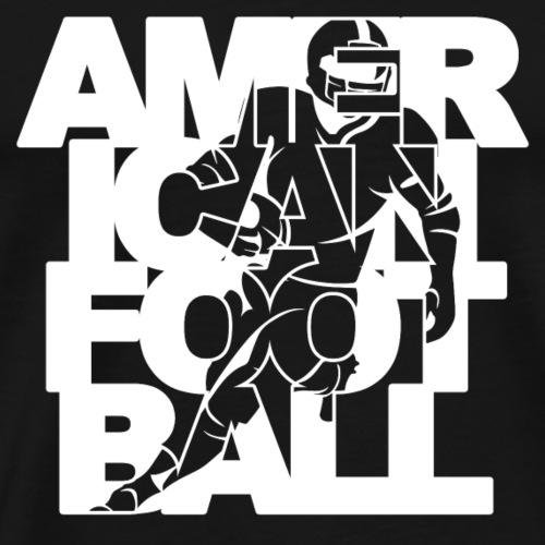 American Football Player - Men's Premium T-Shirt