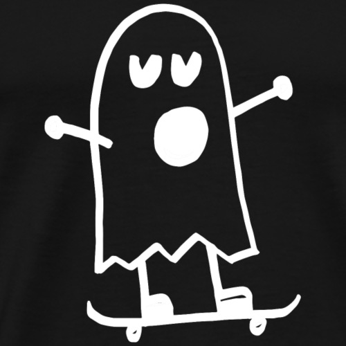 Brand Steinkrone Design Ghost Skateboard - Men's Premium T-Shirt