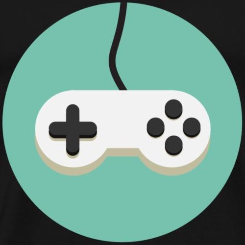 Gamepad Logo - Men's Premium T-Shirt