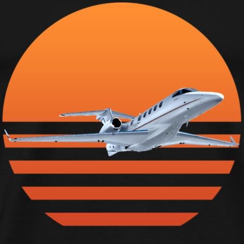 Sunset Jet - Men's Premium T-Shirt