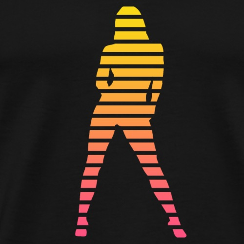 Sexy Babe Silhouette - Men's Premium T-Shirt