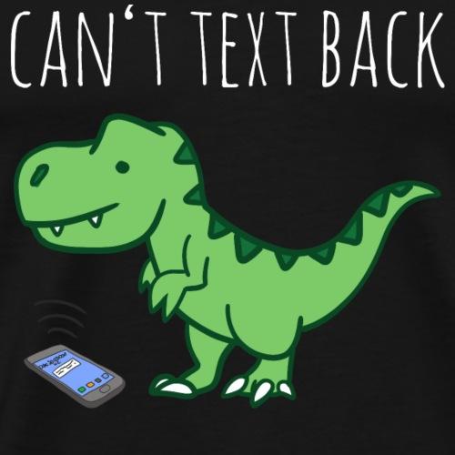 trex dinosaur - Men's Premium T-Shirt