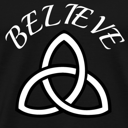 celtic pride believe TEE - Men's Premium T-Shirt