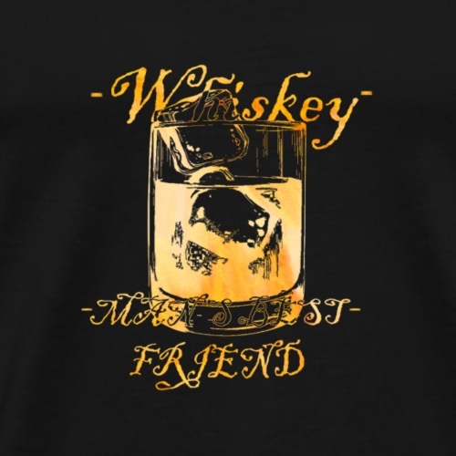 Whiskey Color - Men's Premium T-Shirt