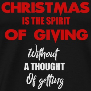christmas is the spirit - Men's Premium T-Shirt