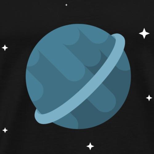 Tiny Blue Planet - Men's Premium T-Shirt
