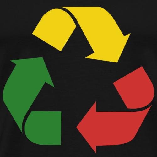 Rasta Recycle - Men's Premium T-Shirt