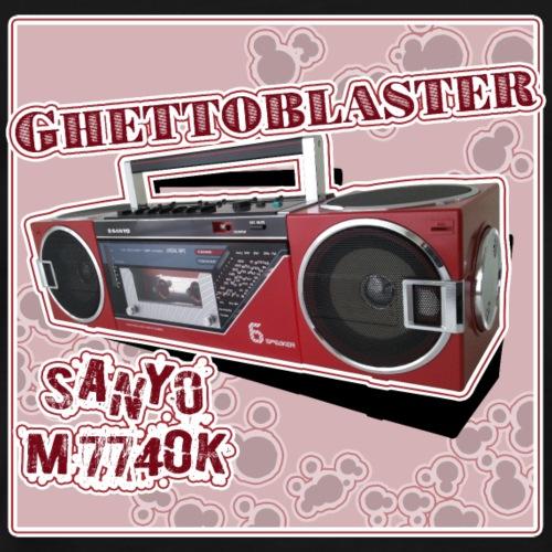 Boombox Sanyo M7740 Ghettoblaster - Men's Premium T-Shirt