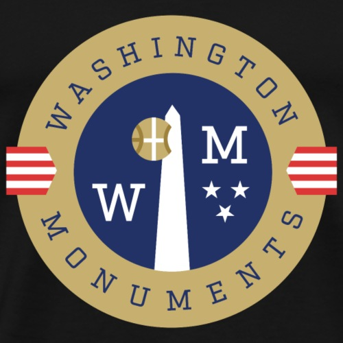Washington Monuments - Men's Premium T-Shirt