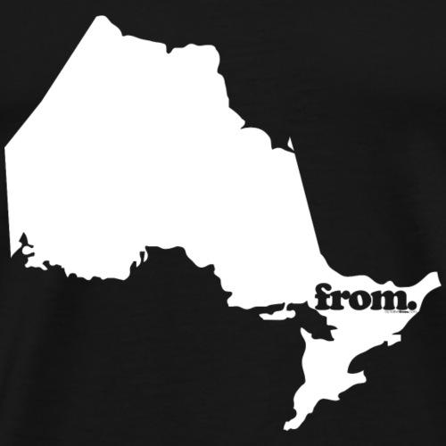 from ontario - Men's Premium T-Shirt