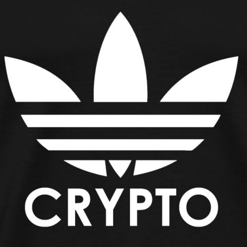 Three Stripe Crypto - Men's Premium T-Shirt
