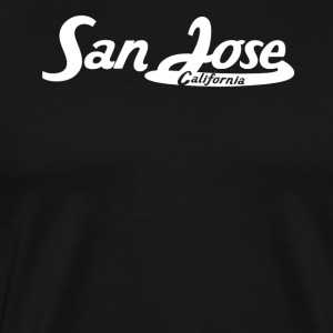 San Jose California Vintage Logo - Men's Premium T-Shirt