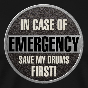 save my drums - Men's Premium T-Shirt