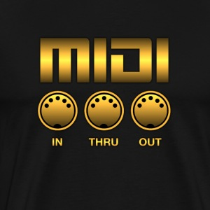 Golden Midi - Men's Premium T-Shirt