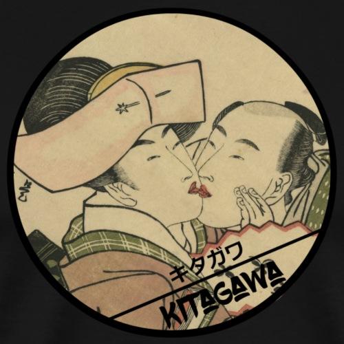 Utamaro Shunga - Men's Premium T-Shirt