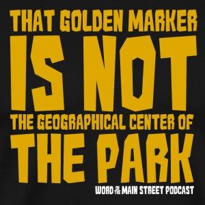 Not the Center - Men's Premium T-Shirt