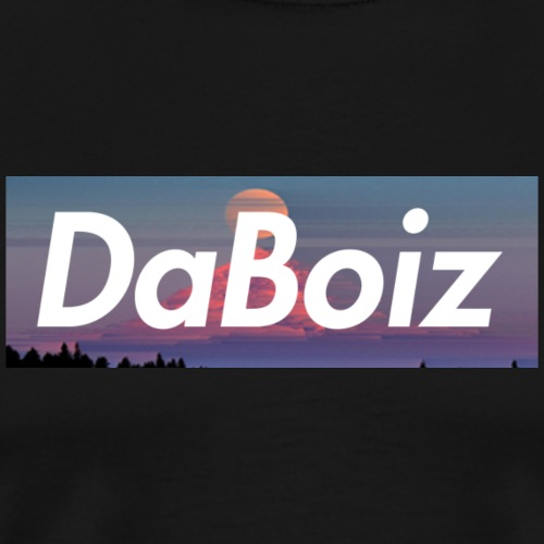 DaBoiz Sunset Vape - Men's Premium T-Shirt