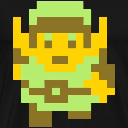 Pixel Link - Men's Premium T-Shirt