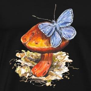 buttefly / fungi / mushroom - Men's Premium T-Shirt