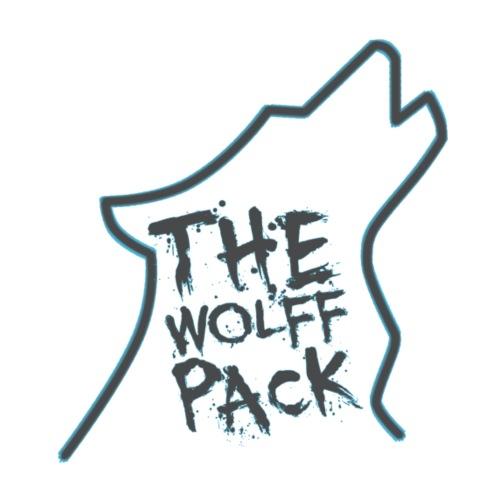 Wolff Pack Light Blue - Men's Premium T-Shirt