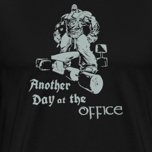 Another Day at the Office - Men's Premium T-Shirt