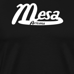 Mesa Arizona Vintage Logo - Men's Premium T-Shirt