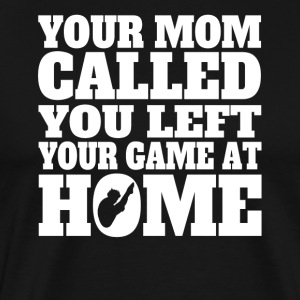 You Left Your Game At Home Funny Diving - Men's Premium T-Shirt