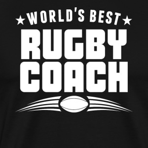World's Best Rugby Coach - Men's Premium T-Shirt